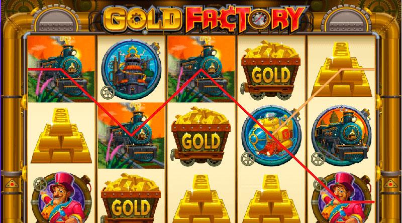 игровой автомат онлайн Gold Factory