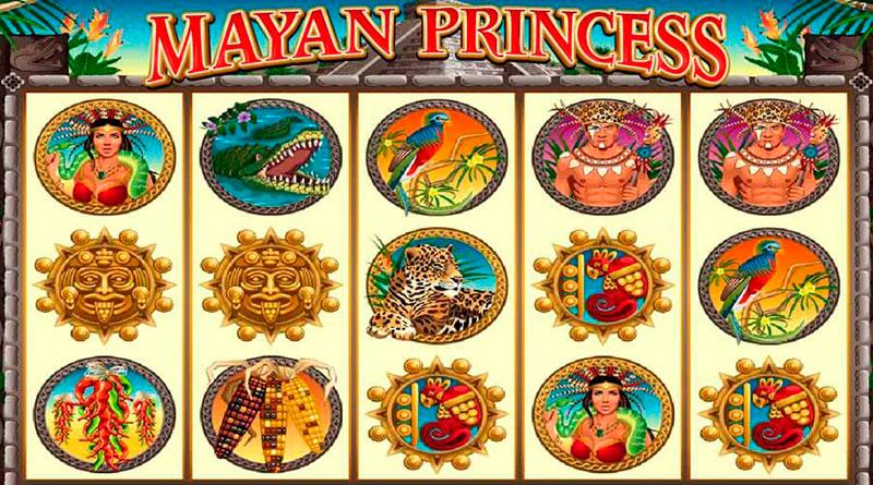 игровой автомат онлайн Mayan Princess